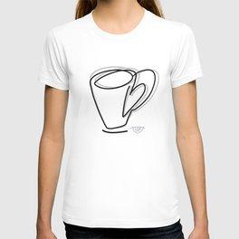 Cuppa Candor [Ivory] T-shirt