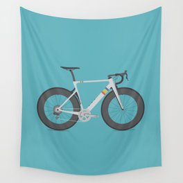 Road Bike Wall Tapestry