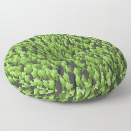 Like Blades of Grass / Large crowd of people illustration Floor Pillow