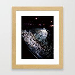 NIGHTLIGHT. Framed Art Print