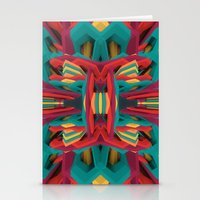 edm Stationery Cards featuring Summer Calaabachti Heart by Obvious Warrior