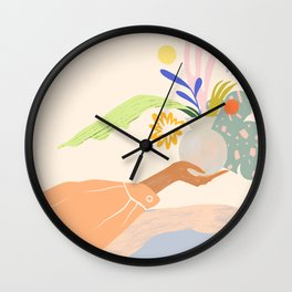 The Act of Giving Wall Clock