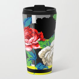 Chintz Rose Metal Travel Mug