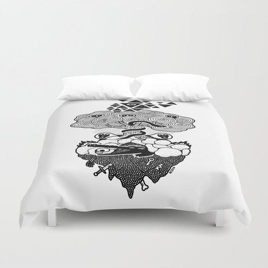 Hypnoisland Duvet Cover