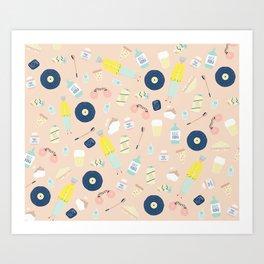 Freshers! Art Print