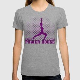 Fun Gymnast Gift Idea Fierce Litte Power House Gymnast T-shirt