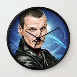 9th Doctor Wall Clock