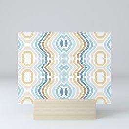 Groovy Cool Stripes Mini Art Print