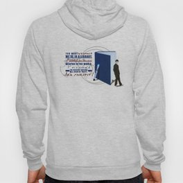 Books are the best weapon in the world Hoody