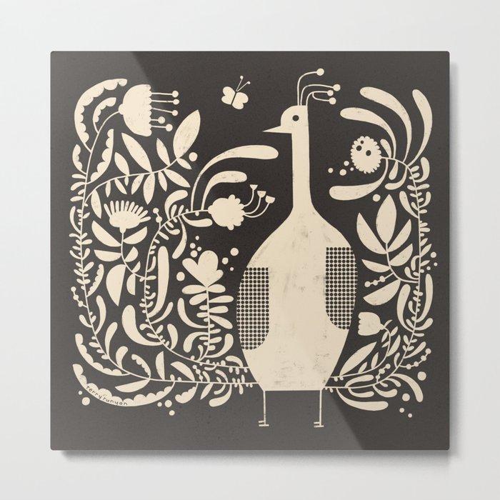 PLUMAGE Metal Print