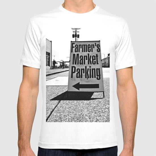 Market Parking Here T-shirt