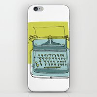 write iPhone & iPod Skins featuring Write! by Phillip Wells
