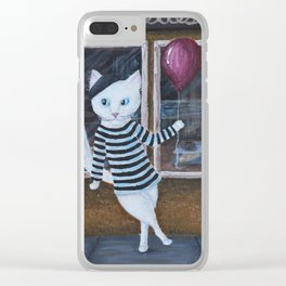 Mister Moo Clear iPhone Case
