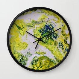 LEMON PIE Wall Clock