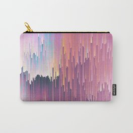 Rainbow Glitches Carry-All Pouch