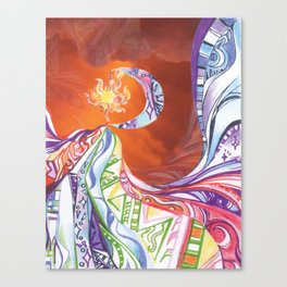 Blissful Harmony Canvas Print