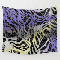 safari Wall Tapestries featuring Safari by Vikki Salmela