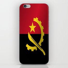 Flag of Angola iPhone Skin