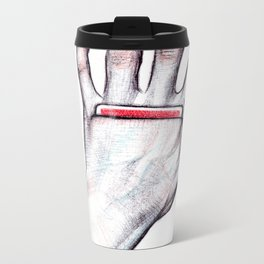 a secret card Metal Travel Mug