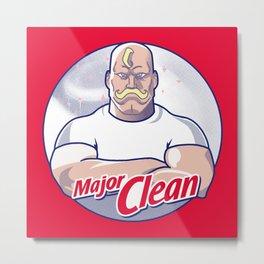 Major Clean Metal Print