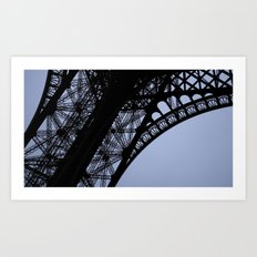 Eiffel Tower - Detail Art Print