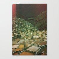 peru Canvas Prints featuring PERU by Camille Defago