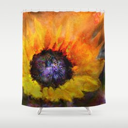 Sunflowers Art Shower Curtain