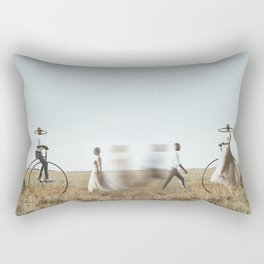 You won't see me anymore Rectangular Pillow
