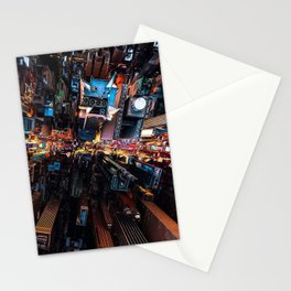 Photos New York City USA Megapolis From above Skyscrapers Houses Cities megalopolis Building Stationery Cards