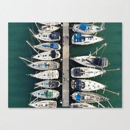 Tel Aviv Marine Canvas Print