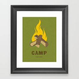 Childish Gambino - Camp Framed Art Print