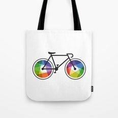 Geometric Bicycle Tote Bag