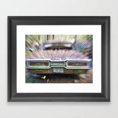 Thunderbird Lanes Framed Art Print