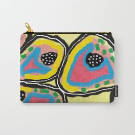 Spring Cells Carry-All Pouch
