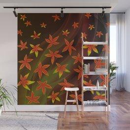 Autumn Leaves Wall Mural