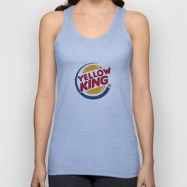 Yellow King Logo Unisex Tank Top