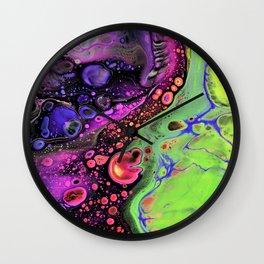 Jasper Sea - lime Wall Clock