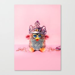 Furby Princess Canvas Print
