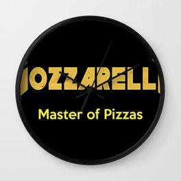 Master of Pizzas Wall Clock