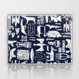 Inuit Eskimo Carvings by Nettwork2Design - Nettie Heron-Middleton Laptop & iPad Skin