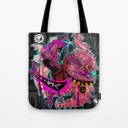 Down with Monsters Tote Bag
