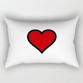 Full Heart Rectangular Pillow
