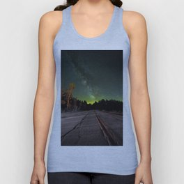 Northern Lights (Color) Unisex Tank Top