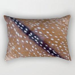 Bambi fur with sport trim Rectangular Pillow