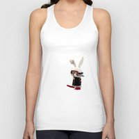 diver Tank Tops featuring Diver by coffee & fried chicken