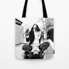 asc 589 - Une Américaine à Paris (My 4th of July in Paris) Tote Bag