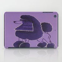 poodle iPad Cases featuring Poodle Doodle by Jill Pace