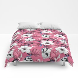 Spring time in pink Comforters
