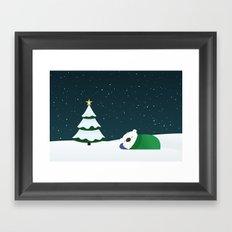 Christmas Dreaming Framed Art Print
