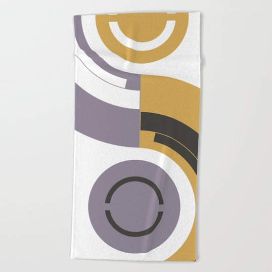 Curves #2 Beach Towel